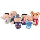 Set 6 marionete pentru degete - Familia Iso Trade MY17428