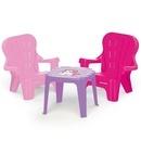Set de masa cu scaune - Unicorn