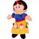 Set Marionete Alba ca Zapada si cei 7 Pitici Fiesta Crafts FCT-2310