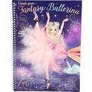 Carte de colorat Create your Fantasy Model Ballerina Depesche PT10195