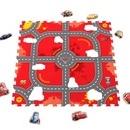 Covor puzzle din spuma Cars 3 Modular Race 9 piese