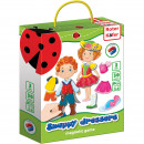 Joc educativ magnetic Snappy dressers Roter Kafer RK3204-04