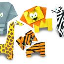 Joc Origami - Animalute salbatice