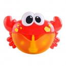 Jucarie de baie, Crab cu baloane muzicale de sapun Iso Trade MY17383