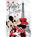 Paturica copii MInnie Paris 100 x 150 cm SunCity JFK025604