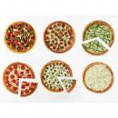 Pizza fractiilor cu magneti