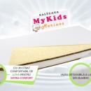 Saltea fibra cocos MyKids Merinos 120x60x10 (cm)