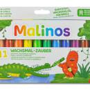 Set creioane retractabile - 12 culori