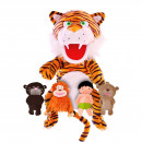 Set Marionete Cartea Junglei Fiesta Crafts FCT-2806