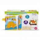 Set puzzle-uri din betisoare lemn - Dinozauri Fiesta Crafts FCT-2933