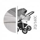 Carucior 3 in 1 Baby Merc Zippy Q - ZQ160C - Cadru Alb