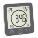 Ceas digital cu timer si termohigrometru pentru bucatarie si baie TFA 60.4001.10