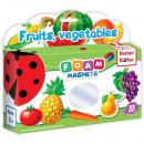 Joc educativ Lumea in Magneti - Fructe si legume Roter Kafer RK2101-04