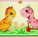 Lenjerie MyKids Dino Roz 4 Piese 140x70