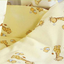 Lenjerie MyKids Mini Giraffe Crem 4 Piese 120x60