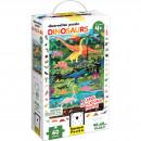 Puzzle Dinozauri 60 piese, 48x68cm Banana Panda BP49112