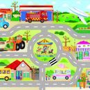 Puzzle Podea: Orasul (30 piese)