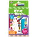 Water Magic: Carte de colorat ABC