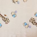 Aparatoare Laterala MyKids Mini Giraffe Crem 140x70