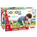 Cuburi colorate de construit - 85 piese