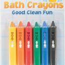 Jucarie pentru baie - Creioane colorate