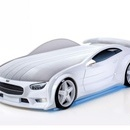 Pat masina NEO Mercedes Alb