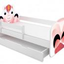 Patut Tineret cu sertar MyKids Animals Unicorn 140x70
