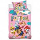 Set lenjerie pat copii Paw Patrol Cute 100x135 + 40x60 SunCity CBX203006PAW