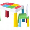 Set masuta cu scaun Tega Lego Multifun Multicolor