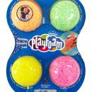 Spuma de modelat cu sclipici Playfoam™ - Set 4 culori