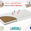 Saltea Fibra Cocos MyKids MyDreams II 160x80x12 (cm)