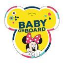 Semn de avertizare Baby on Board Minnie Seven SV9613