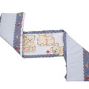 Aparatoare Laterala MyKids Teddy Friends Gri M1 140x70