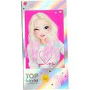 Carnetel de colorat in forma de telefon mobil Top Model cu muzica Depesche PT10039