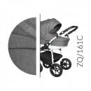 Carucior 3 in 1 Baby Merc Zippy Q - ZQ161C - Cadru Alb