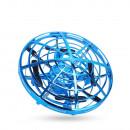 Mini drona OZN cu control gestual (bleu)