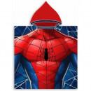 Poncho cu gluga Spiderman 50x100 cm SunCity FRA588244