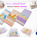 Saltea Fibra Cocos MyKids Economy II Color Diverse Modele 110x65x10 (cm)
