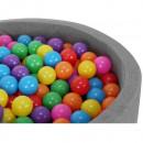 Set 100 Bile din Plastic Colorate, 5 cm Malatec MY2866