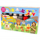 Set Tubi Jelly cu 6 culori - Animale Tuban TU3326