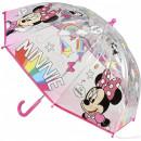 Umbrela transparenta Minnie, diametru 66 cm SunCity CEP2400000476
