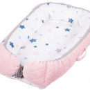 Baby Nest Klups Velvet Roz V101