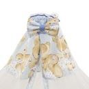 Lenjerie MyKids Teddy Hug Blue M1 7 Piese 140x70 cm