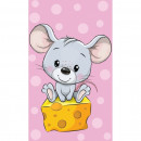 Prosop fata Mouse 30x50 cm SunCity CBX202022TNL