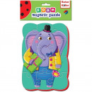 Puzzle magnetic A5 Elefant Roter Kafer RK1302-03