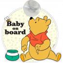 Semn de avertizare Baby on Board Winnie Disney CZ10457