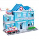 Set constructie puzzle 3D - Spital Fiesta Crafts FCT-3048