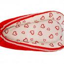 Baby Nest MyKids Hearts-Red White