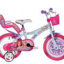 "Bicicleta copii 14"" - Barbie la plimbare"