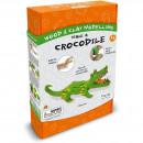 Kit constructie lemn si argila – Crocodil Fiesta Crafts FCT-3006